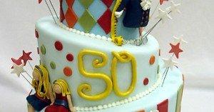 tårta till 50årskalaset